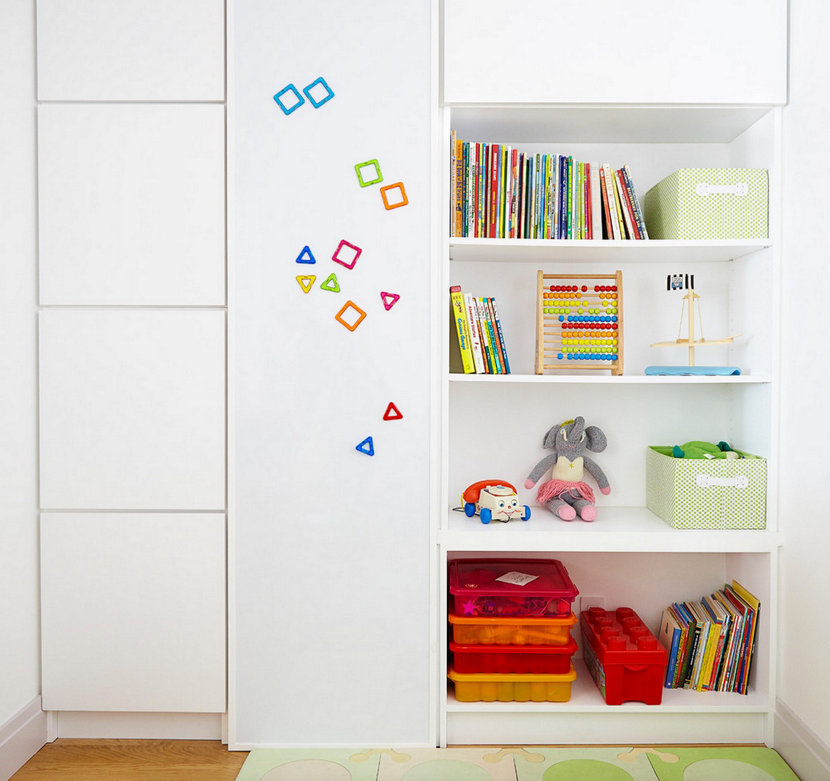 modern children's play room