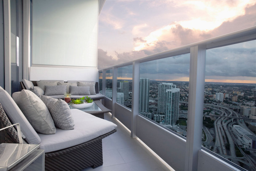 Views from the Epic Miami Residence
