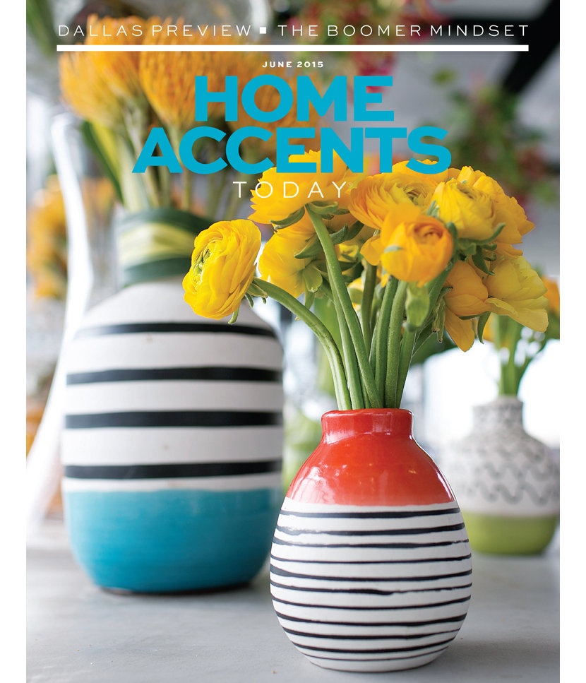 Home Accents Today Magazine June 2015 Cover Image