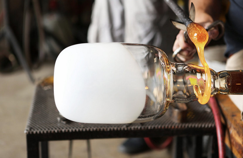 Wrapping Glass Blowing
