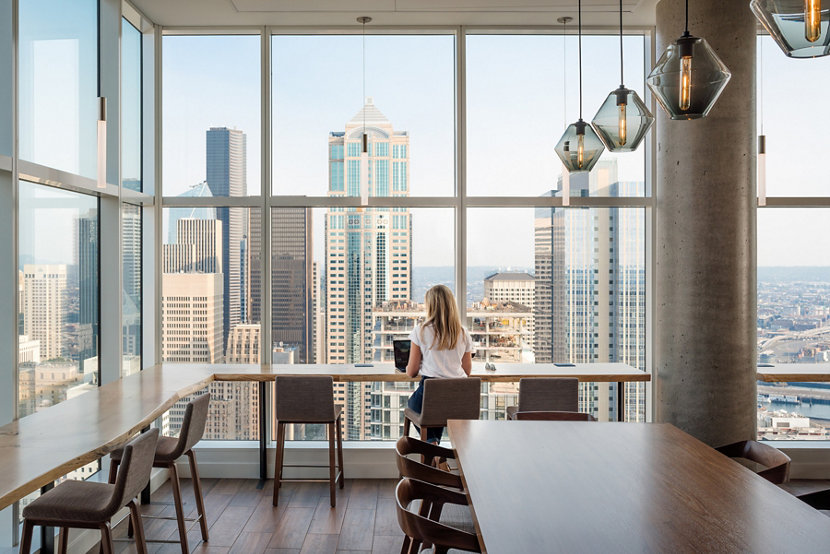 Modern Pendant Lighting Included in Seattle\'s Luxury Apartments
