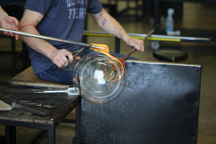 Handmade Pendant Light Made Not Manufactured
