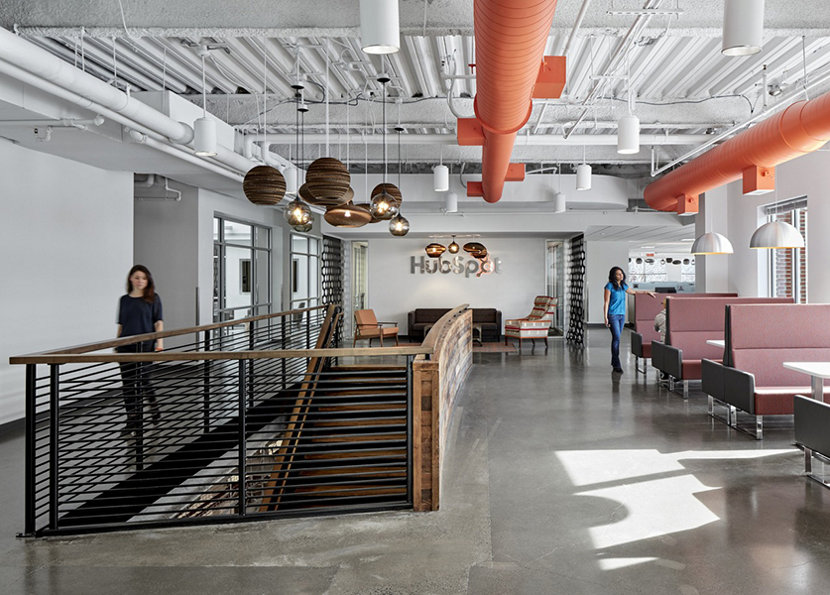 Modern Office Lighting HubSpot - Gray Binary