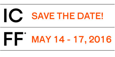 ICFF save the date