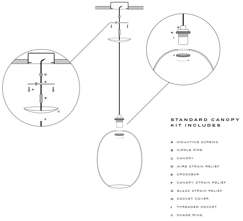 To install your ellipse modern pendant light how to install your ellipse modern pendant light aloadofball Images