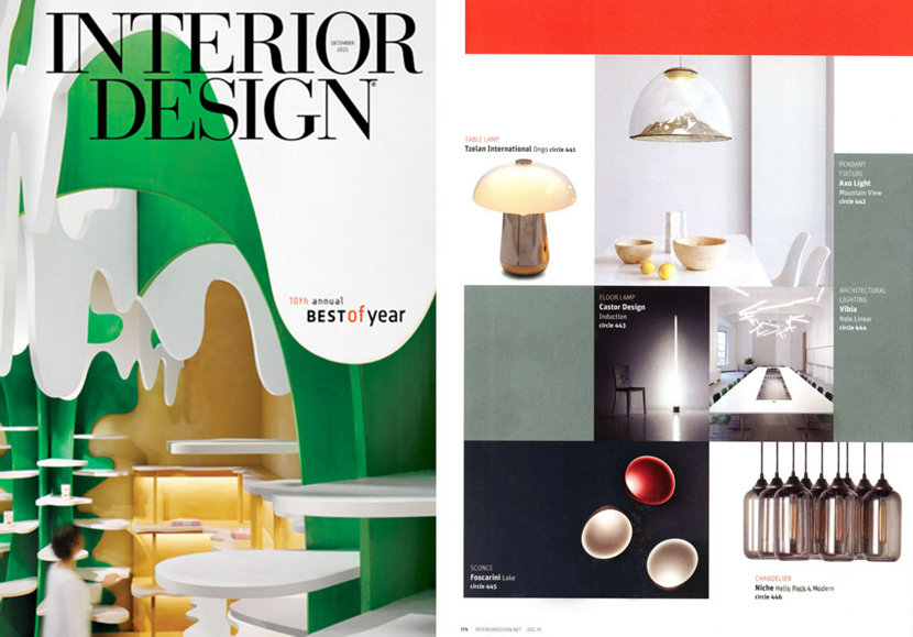 Interior Design Magazine Best Chandelier of the Year
