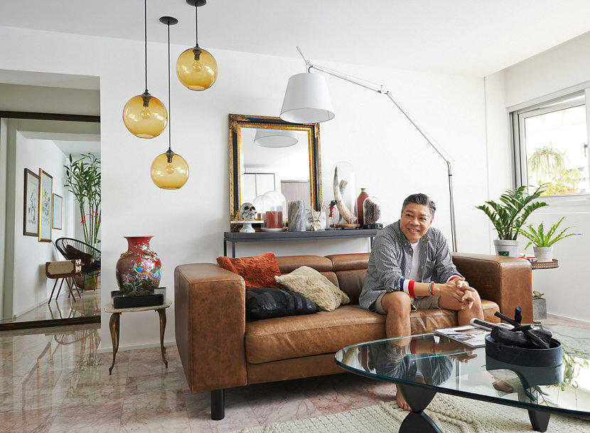 Handmade Pendant Lights in Jeremy Tan Flat