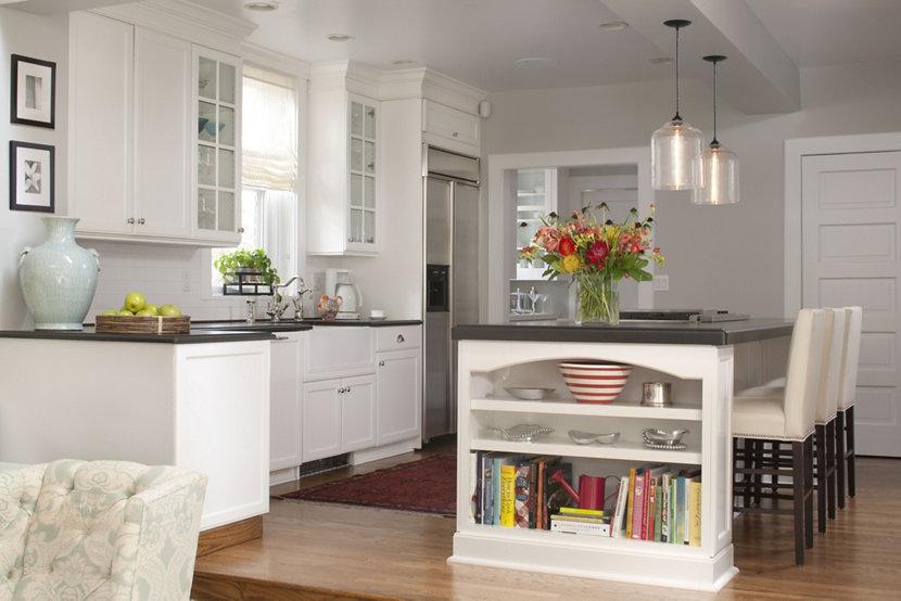 Niche Contemporary Kitchen Island Lighting Inside Colorado Home