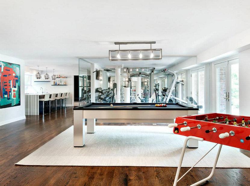 Westchester New York home recreational room