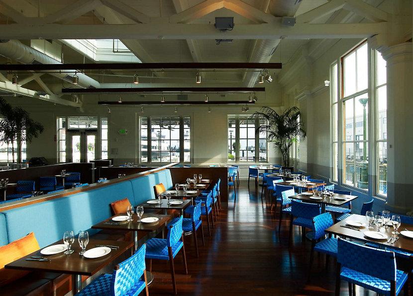 La Mar restaurant interior in San Francisco