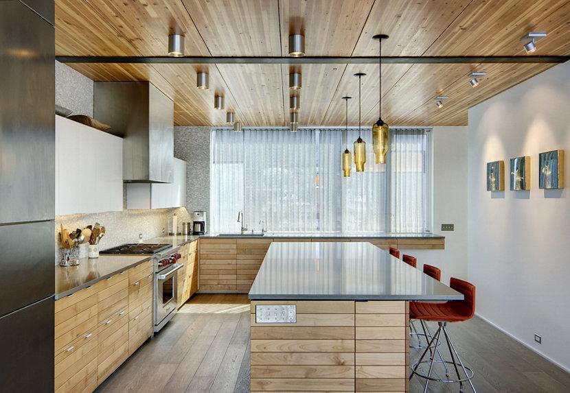 Kitchen Island Pendant Lights - Amber Pharos