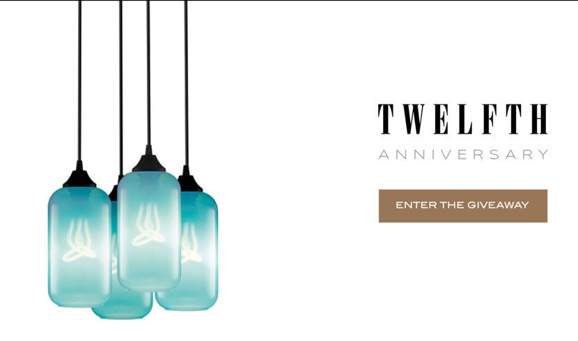12th Anniversary Enter the Giveaway