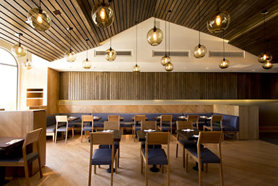 Modern Lighting Project Pages - Restaurant Lighting