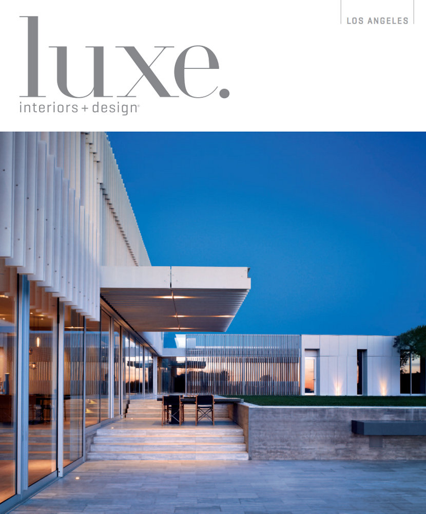 Modern Pendant Lights Cluster in Luxe Magazine