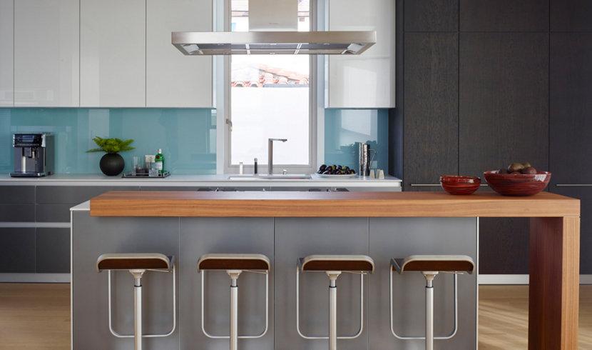 manhattan beach modern kitchen