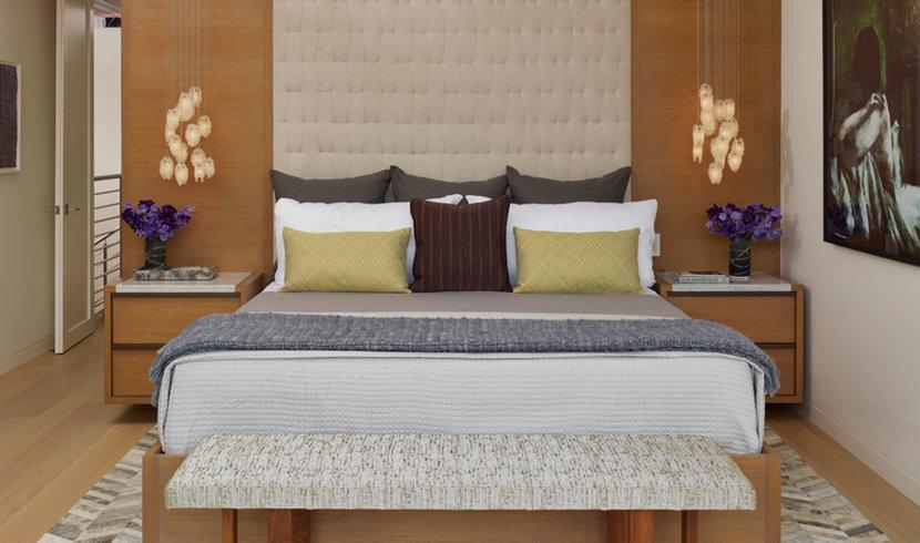 manhattan beach modern bedroom