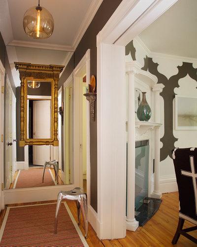 Hallway Modern Lighting Creates A Warm Glow In Designer S