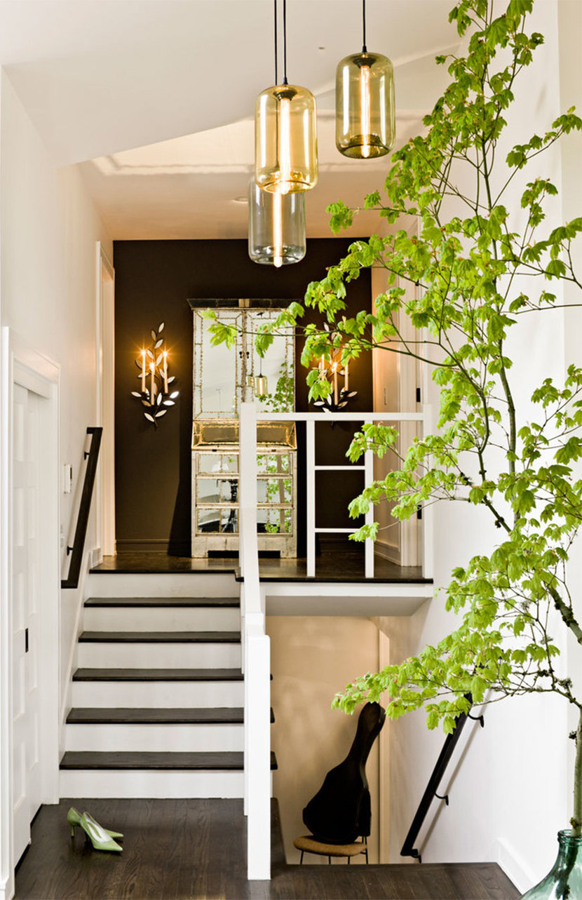 Modern Entryway Lighting with the Pod Modern Pendant Light