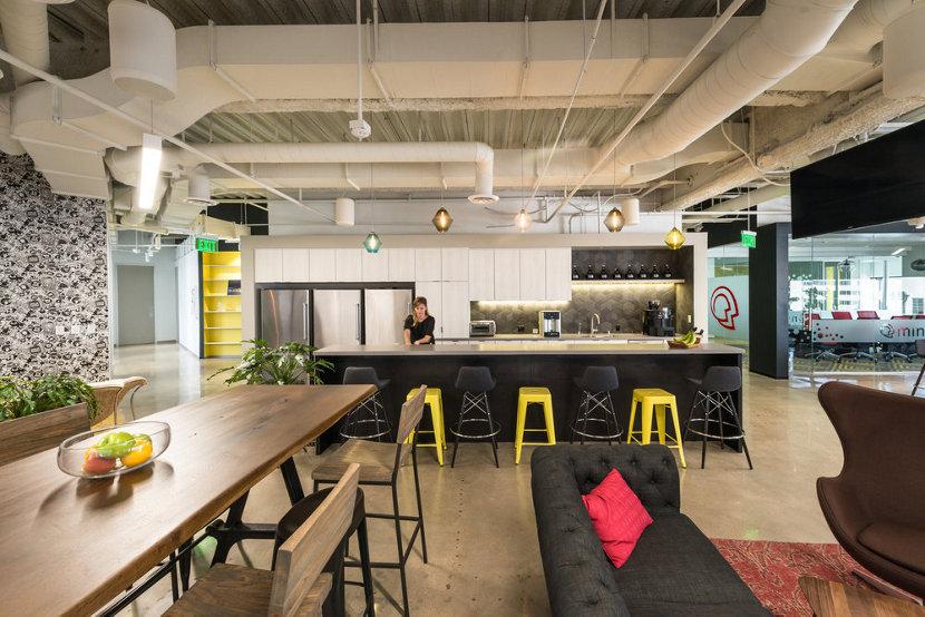 Modern Office Pendant Lights - MindTouch Lounge