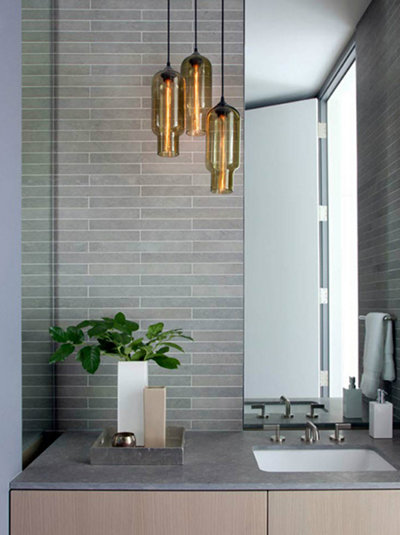 modern bathroom pendant lighting modern bathroom pendant lighting & Top 6 Favorite Bathroom Pendant Lighting Installations