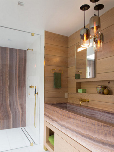 modern bathroom pendant lighting ... & Top 6 Favorite Bathroom Pendant Lighting Installations