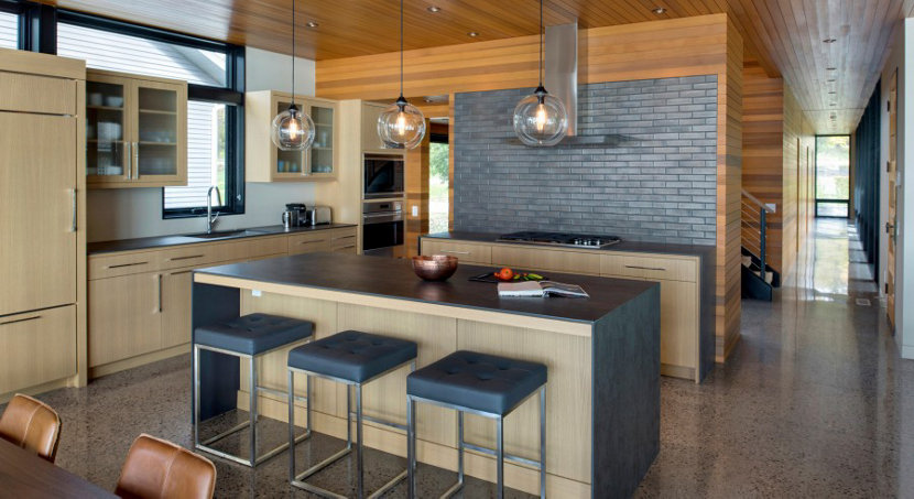 Handmade Kitchen Pendant Lights - Crystal Solitaires