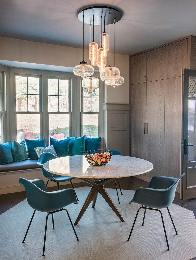 Modern Chandelier Lighting Illuminates Massachusetts ...