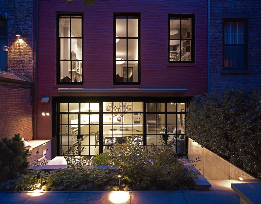 Brooklyn Townhouse Exterior