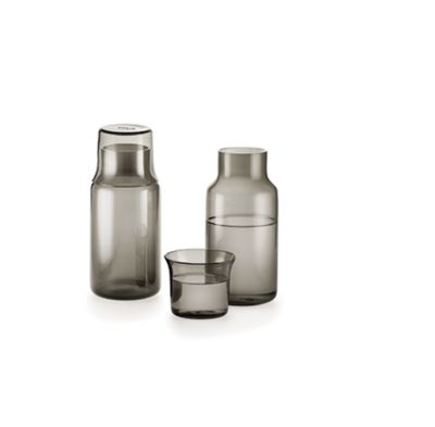 modern Gray glass carafe