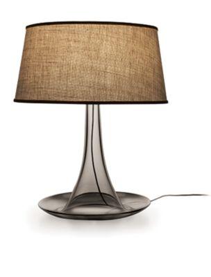 modern Gray glass table lamp