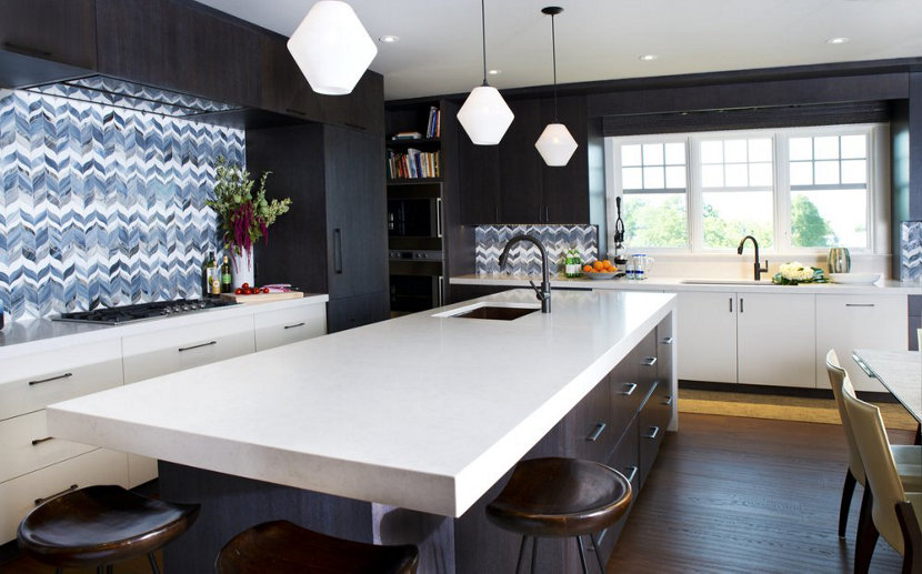 Modern Kitchen Pendant Lights 3 kitchens with crystalline modern pendant lights trove modern pendant lights workwithnaturefo