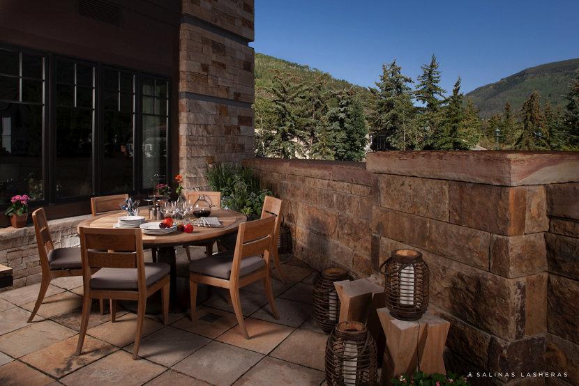 Vail, Colorado luxury residence porch