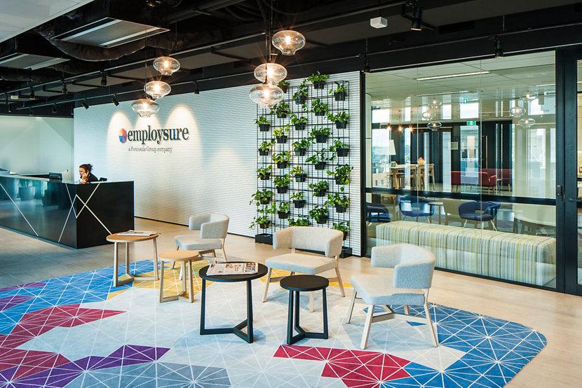 Modern Office Lighting at Employsure