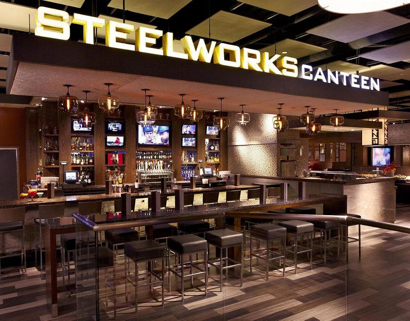 Modern Restaurant Pendant Lighting Inside Sands Casino Resort