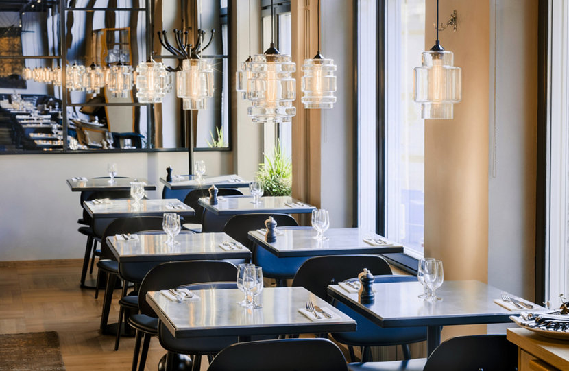 Modern Restaurant Pendant Lighting in Sweden