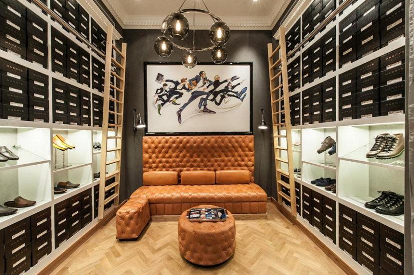 Modern Retail Pendant Lighting Adorns Harry's of London Dubai