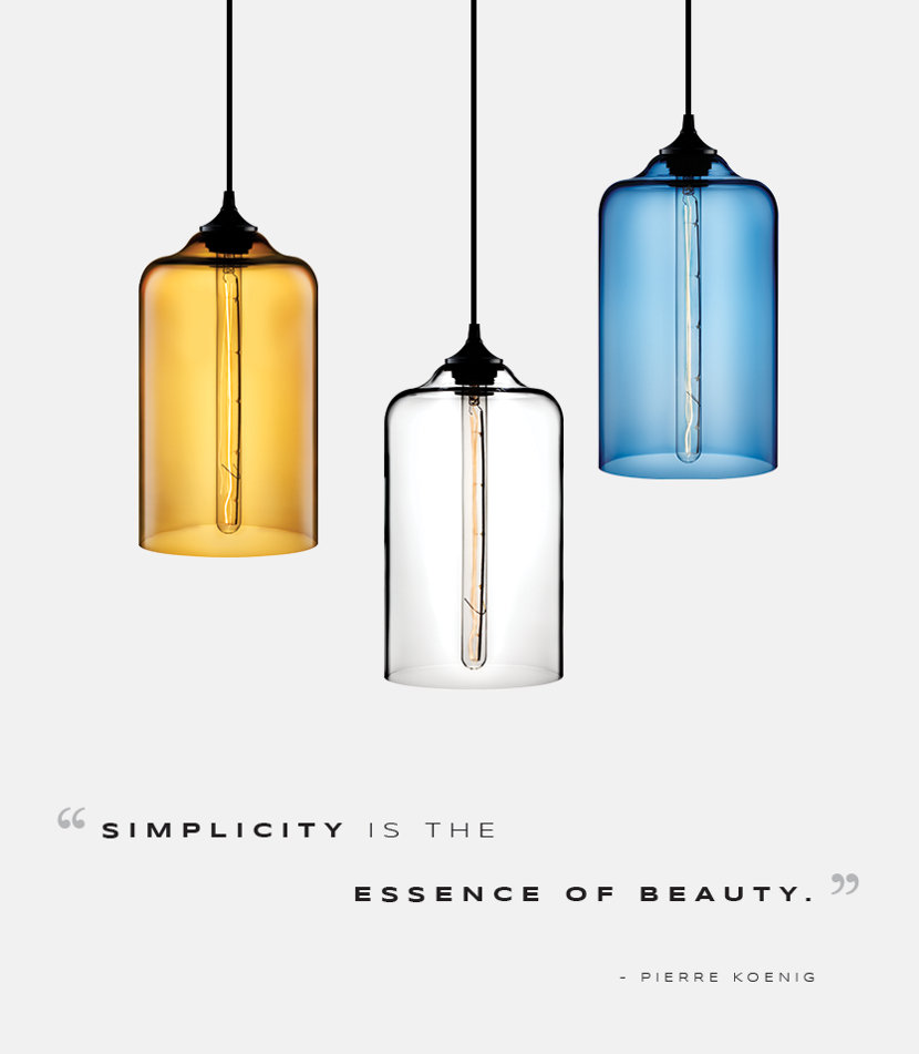 Pointelle Modern Pendant Light