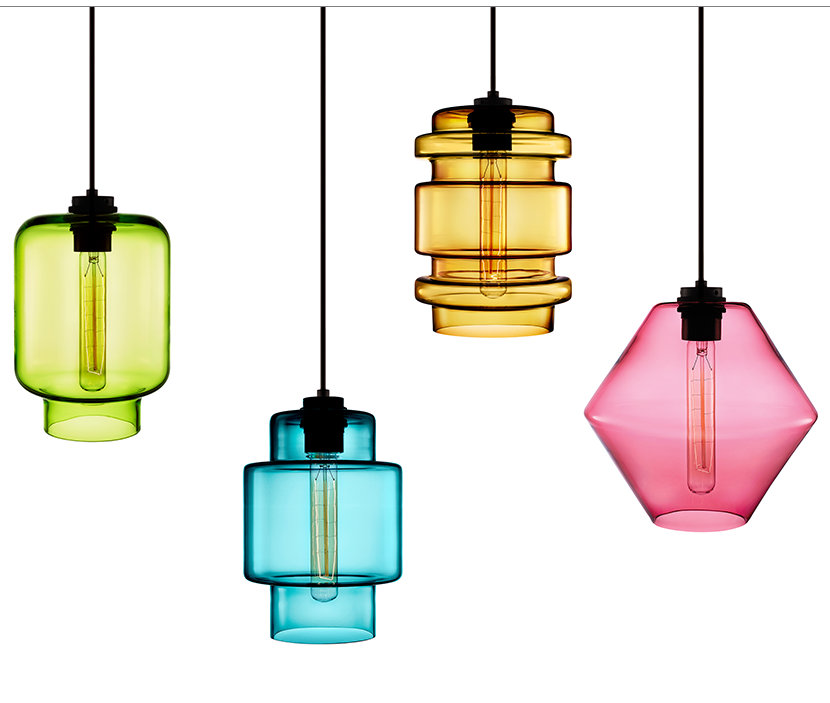 The Crystalline Series - Colorful Modern Lighting