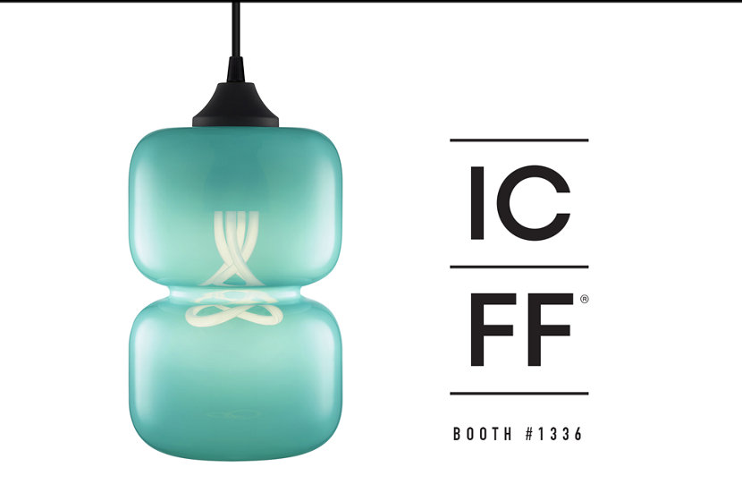 VIsit us at ICFF to view our new modern pendant lighting in person.