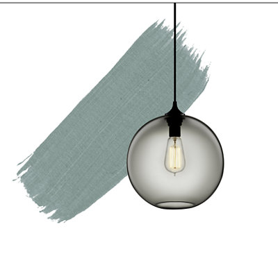 2018 Color of the Year - Gray Pendant Light