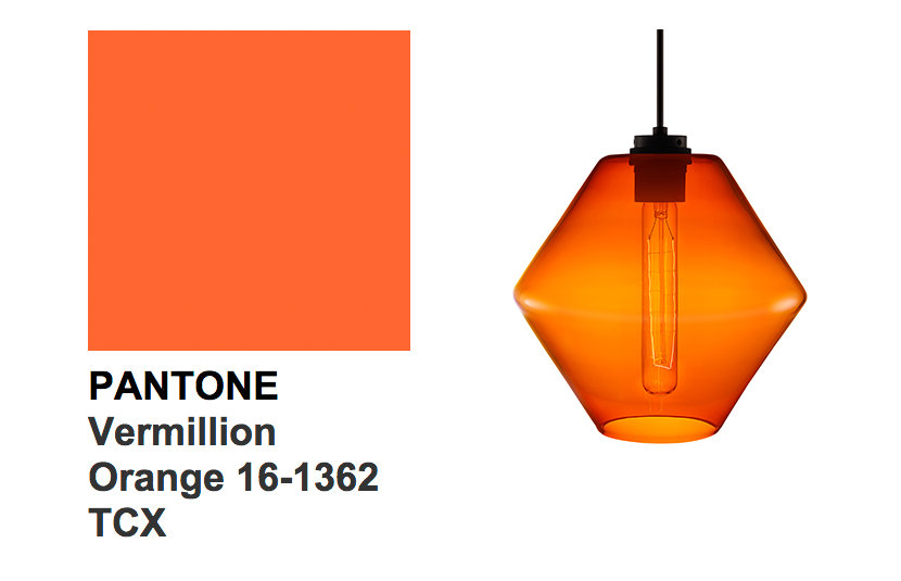 Pantone's Color of the Day - Vermillion Orange