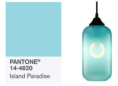 Pantone's Spring Fashion Color Report Reflects Blue Modern Lighting