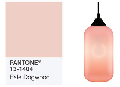 Pantone's Spring Fashion Color Report Reflects Pink Modern Lighting