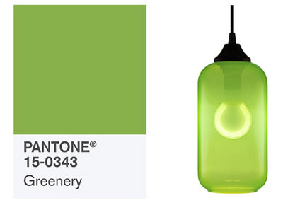 Pantone's Spring Fashion Color Report Reflects Green Modern Lighting