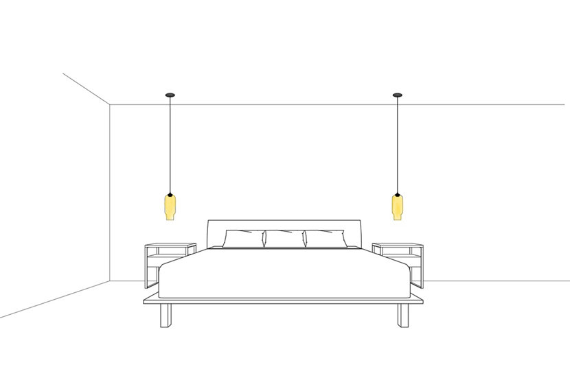 Bring Balance to Your Bedroom with Pharos Modern Pendant Lights