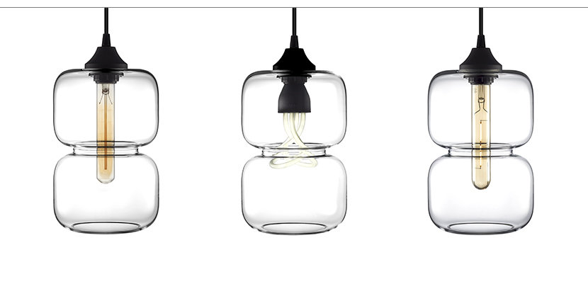 Lamping Options for Pinch Modern Pendant Light