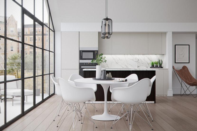 3 Residential Interiors for Your Pod Modern Pendant Light