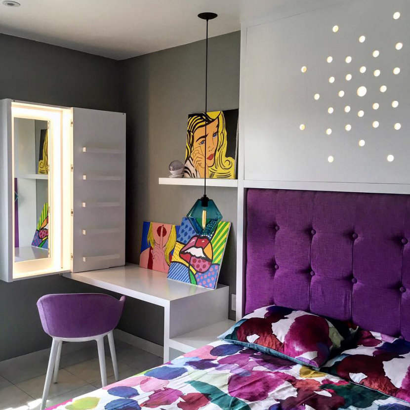 Condesa Contemporary Lighting - Trove Bedroom
