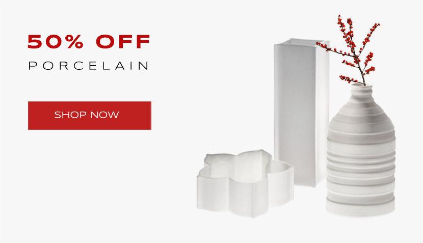 50% off Porcelain Vases