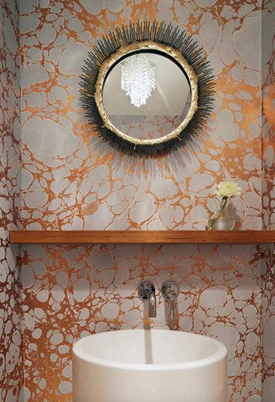 modern Brooklyn townhouse bathroom